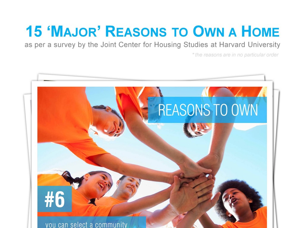 15 Major Reasons to Own a Home -