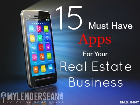 15 must have apps for your real estate business