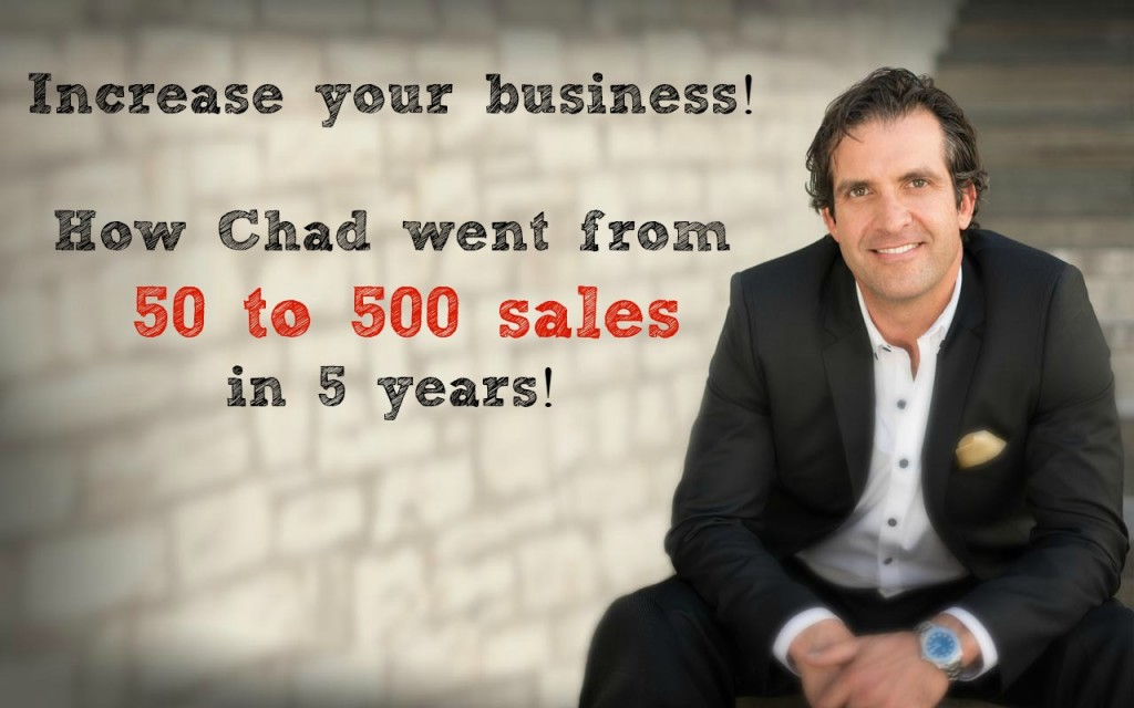 Chad Goldwasser - From 50 to 500 in 5 Years