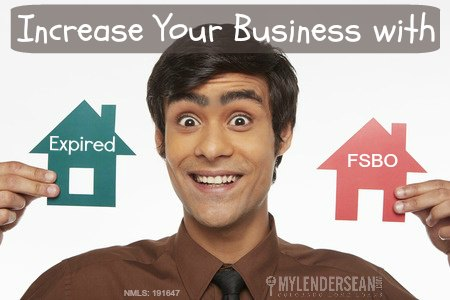 Increase your business with Expired and FSBO listings
